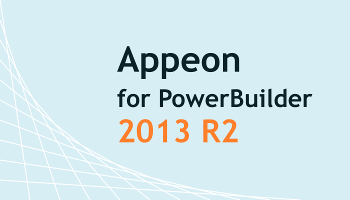 Appeon for PowerBuilder 2013 R2 リリース