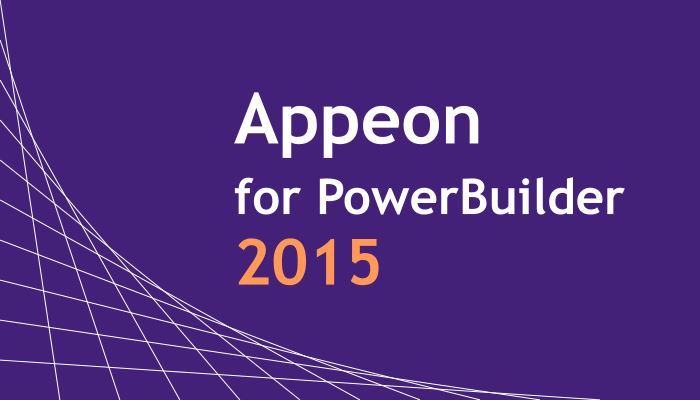 Appeon for PowerBuilder 2015 リリース