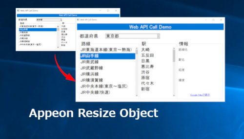 Appeon Resize Object