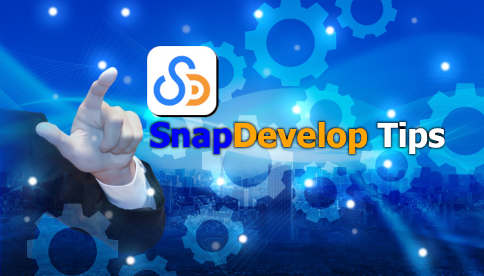 SnapDevelop Tips