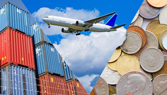 航空、運輸、貨物、金融