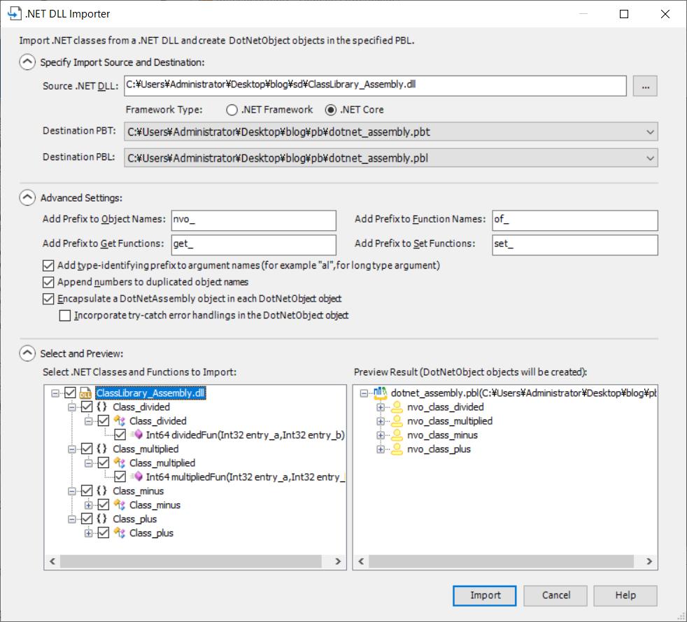 .NET DLL Importer